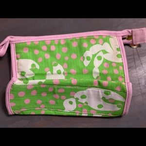 Lilly Pulitzer small cosmetic bag.